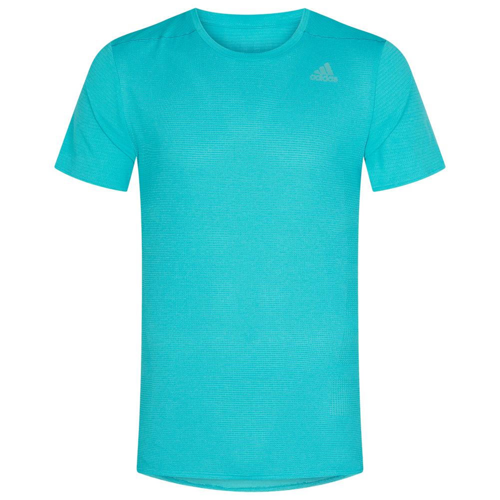 adidas SuperNova  Womens T Shirt Blue Climacool Running Reflective Comfort NEW