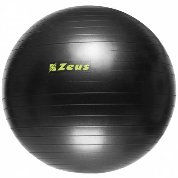 Zeus Gym Yoga Fitness Gymnastikball 75cm schwarz