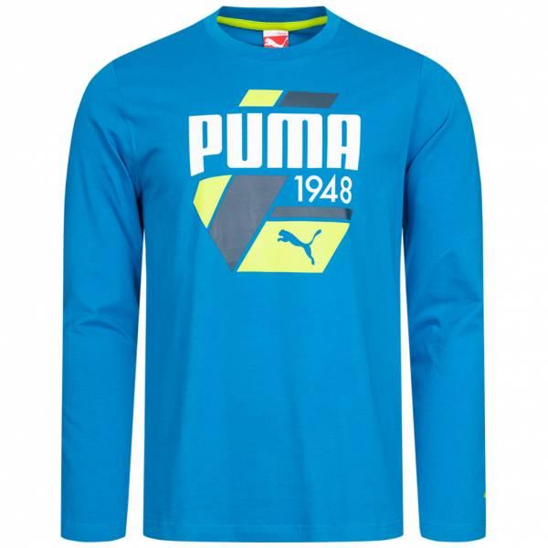 PUMA Fun S. Casual Logo Uomo Top a maniche lunghe 830021-25