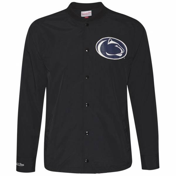 Mitchell & Ness Penn State University Herren Coach Jacke BFJKAJ18027-PENBLCK