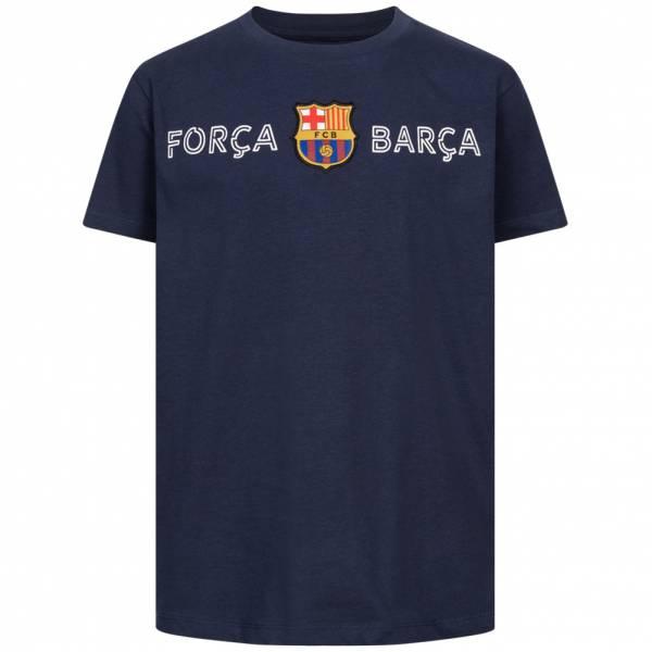 FC Barcelona Forca Barca Kinder T-Shirt FCB-3-343C