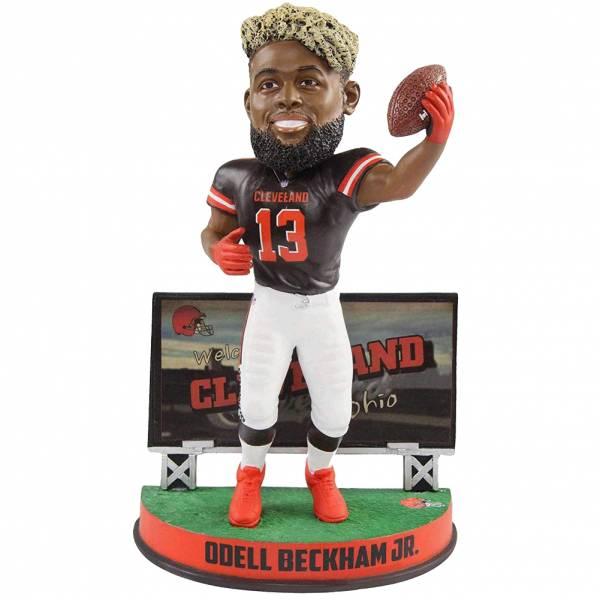 Browns de Cleveland Odell Beckham Jr. Billboard 20cm Figurine bobblehead BHNFSMUBILLCLOB