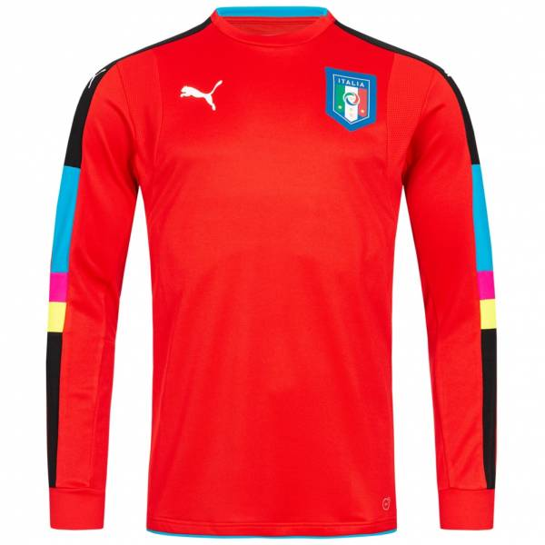 Italien PUMA Torwarttrikot Authentic Player Issue 748830-14
