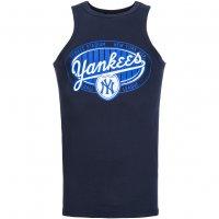 New York Yankees Majestic Kato MLB Tank Top Shirt navy