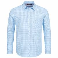 BEN SHERMAN Herren Langarm Hemd 0058303-100 Light Blue