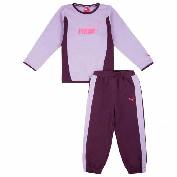 PUMA Essentials Set Baby Crew Jogger Jogginganzug 827935-01