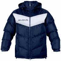 Givova Winter Jacket Giubbotto Podio navy / white
