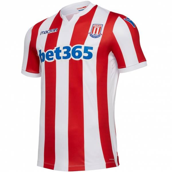 Stoke City FC macron Hombre Camiseta primera equipación 58025148