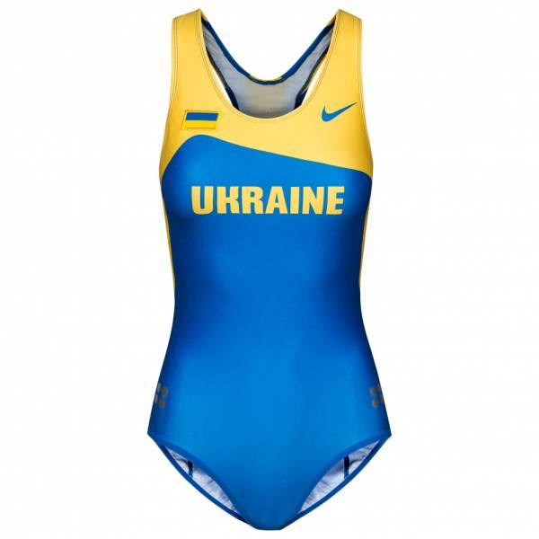 Ukraina Nike Leotard Women's Athletics Gymnastics One Piece 713709-460