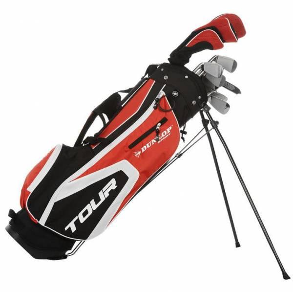 Dunlop Tour Golfset Graphit/Stahl 16-tlg. Rechtshand