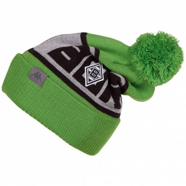 Borussia Mönchengladbach Kappa Knit Hat Bommel Mütze 402047