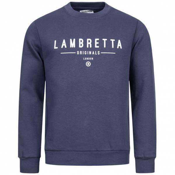 Lambretta Crew Neck Sweat Herren Sweatshirt SS9882 Navy