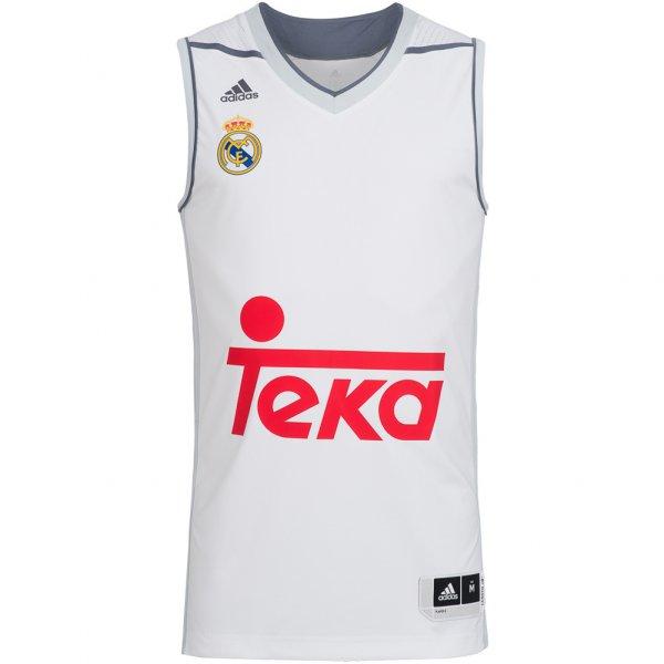 Real Madrid adidas Herren Basketball Trikot Replica AI4820