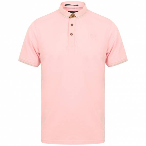 Kensington Eastside Prospect Cotton Herren Polo-Shirt 1X11176 Candy Pink