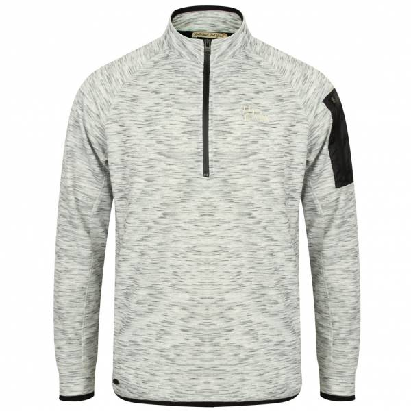 Tokyo Laundry Darowen Peaks 1/2 Zip Men's Sweatshirt 1D9800 EGG Shell