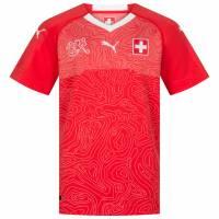 Schweiz PUMA Kinder Heim Trikot 752481-01