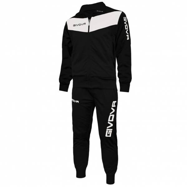 Givova Tuta Visa Tracksuit black and white