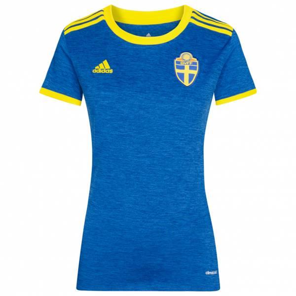 Schweden adidas Damen Auswärts Trikot B10769