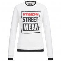 Vision Street Wear Damen Crew Neck Sweatshirt Sweat CL2710 white