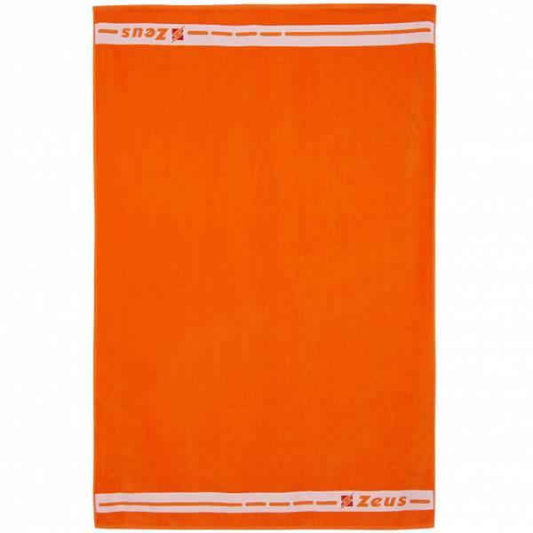 Zeus Badehandtuch Baumwolle 155 x 100 cm orange
