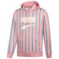 PUMA Downtown Stripe PO Men Graphic Sweatshirt 595712-14