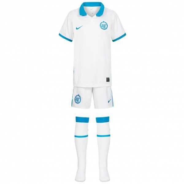 Zenit St. Petersburg Nike Trikot Set Mini Kit 3-teilig 389636-105
