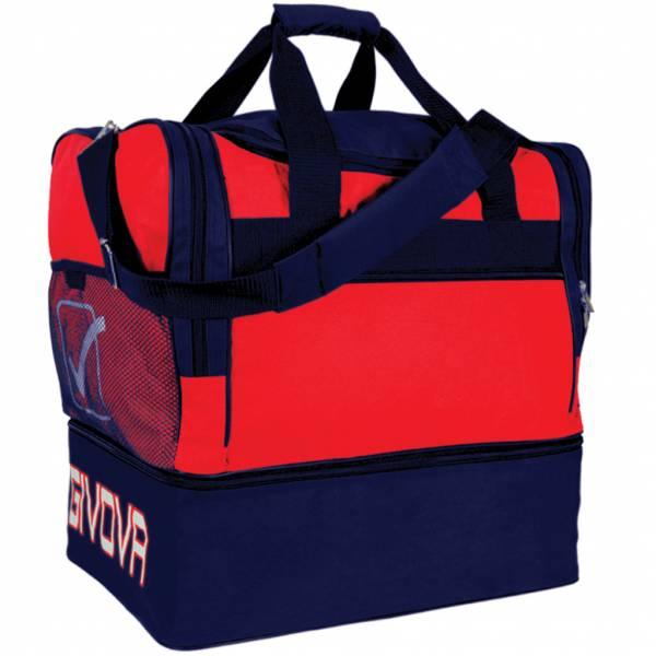 Givova Borsa Football Bag red / navy