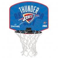 Oklahoma City Thunder Spalding NBA Miniboard 3001588012717