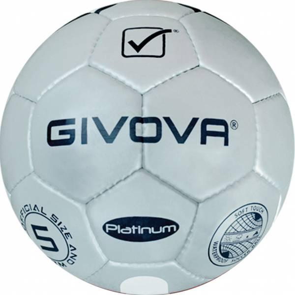 """Givova Fussball """"Platinum"""" silber/navy"""