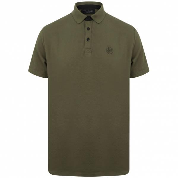 DNM Dissident Klaxon Herren Polo-Shirt 1X12429 Turtle Khaki