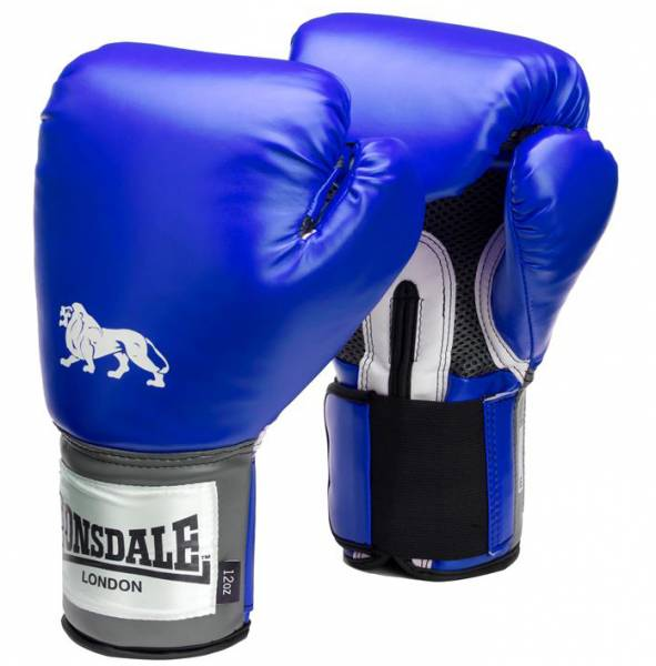 Lonsdale Pro Training Boxing Gloves blue