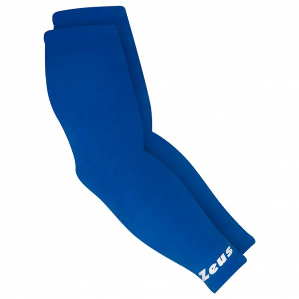 Zeus Couvre bras Manchettes de compression élastiques royal blue