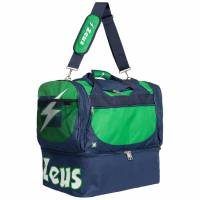 Zeus Borsa Delta Bolsa de deporte para fútbol Verde Marino