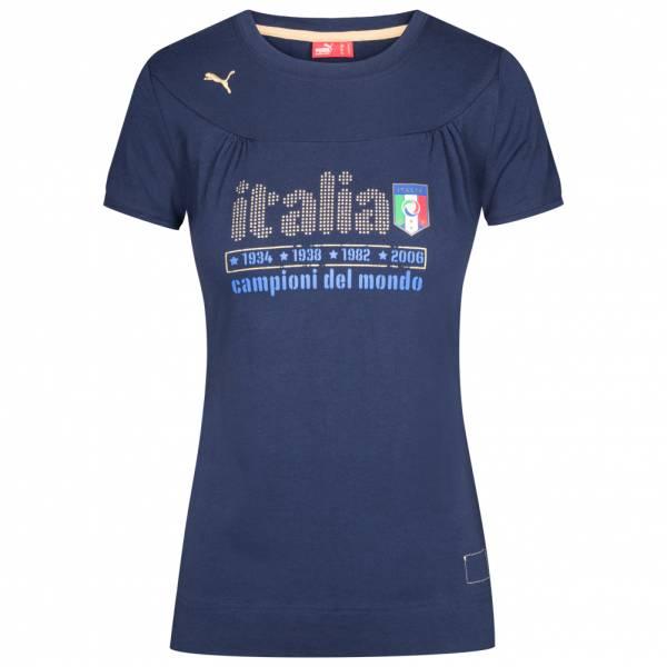 Italien PUMA Damen Graphic Fan T-Shirt 735257-02