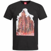 Liverpool FC Warrior Graphic Herren Fan T-Shirt WSTM264-BK