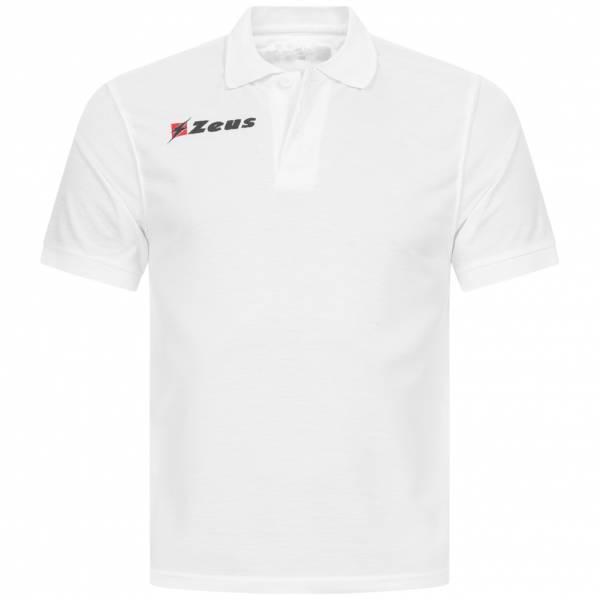 Zeus Basic Herren Poloshirt weiß