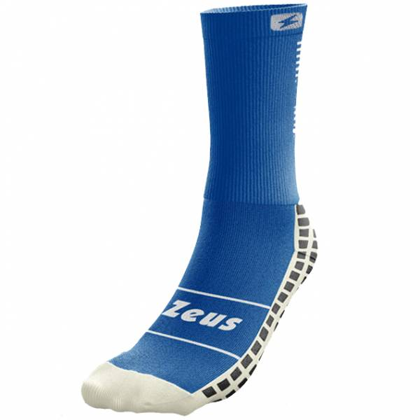 Zeus non-slip professional training socks blue