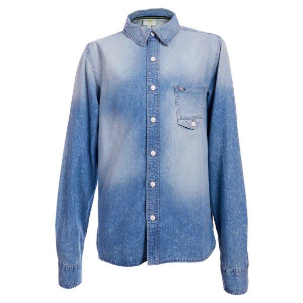 adidas NEO Denim Shirt Jeans Hemd Z67173