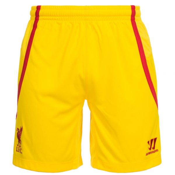 Liverpool FC Auswärts Short Warrior gelb