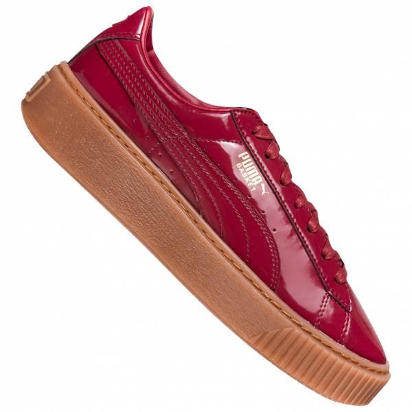 PUMA Basket Platform Patent Damen Sneaker 363314-04