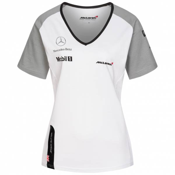 McLaren Motorsport Button Damen Shirt V09LD1T1