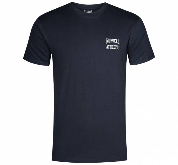 RUSSELL ATHLETIC Logo Crew Neck T-Shirt FW16PON013-NAVY