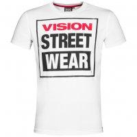 Vision Street Wear Herren Crew T-Shirt CM0245 weiß