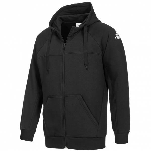 adidas Herren Classic Full Zip Hooded Sweatshirt CW9971