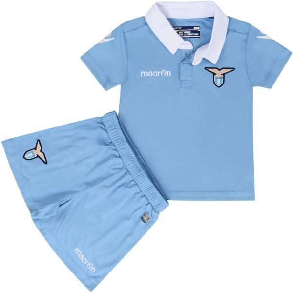 S.S. Lazio macron per il gioco in casa Baby Set da calcio 58089341