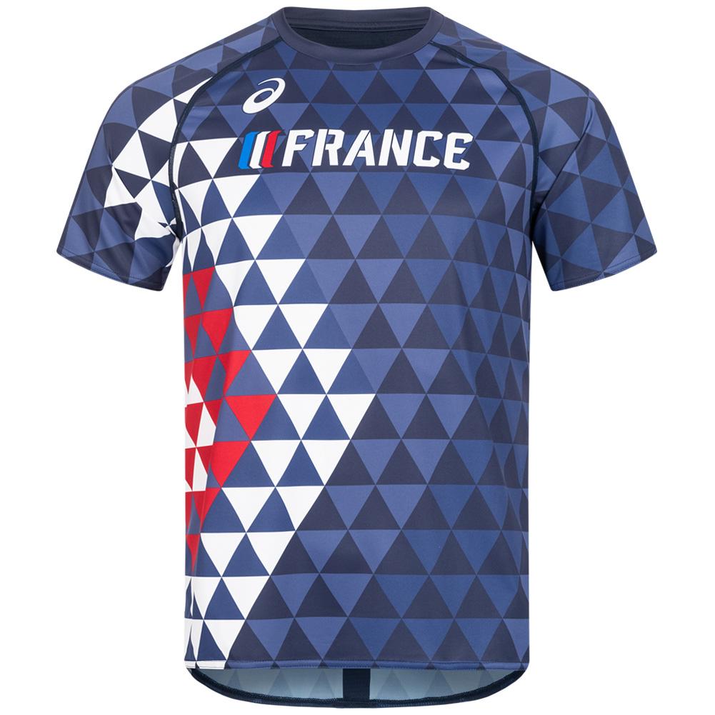 France ASICS Athletics Top A17A39-52FR