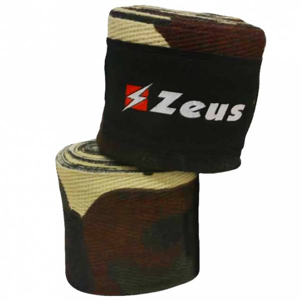 Zeus Venda de boxeo verde / camuflaje