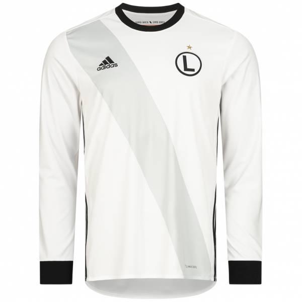 Legia Warschau adidas Herren Heim Langarm Trikot BP5243