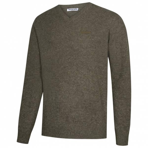 Lambretta Lambswool Sweater Herren Lammwolle Sweatshirt RWIK0045-GREY