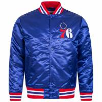 Mitchell & Ness Philadelphia 76ers Herren Satin Jacke MN-NBA-6390-PHIL76-ROY